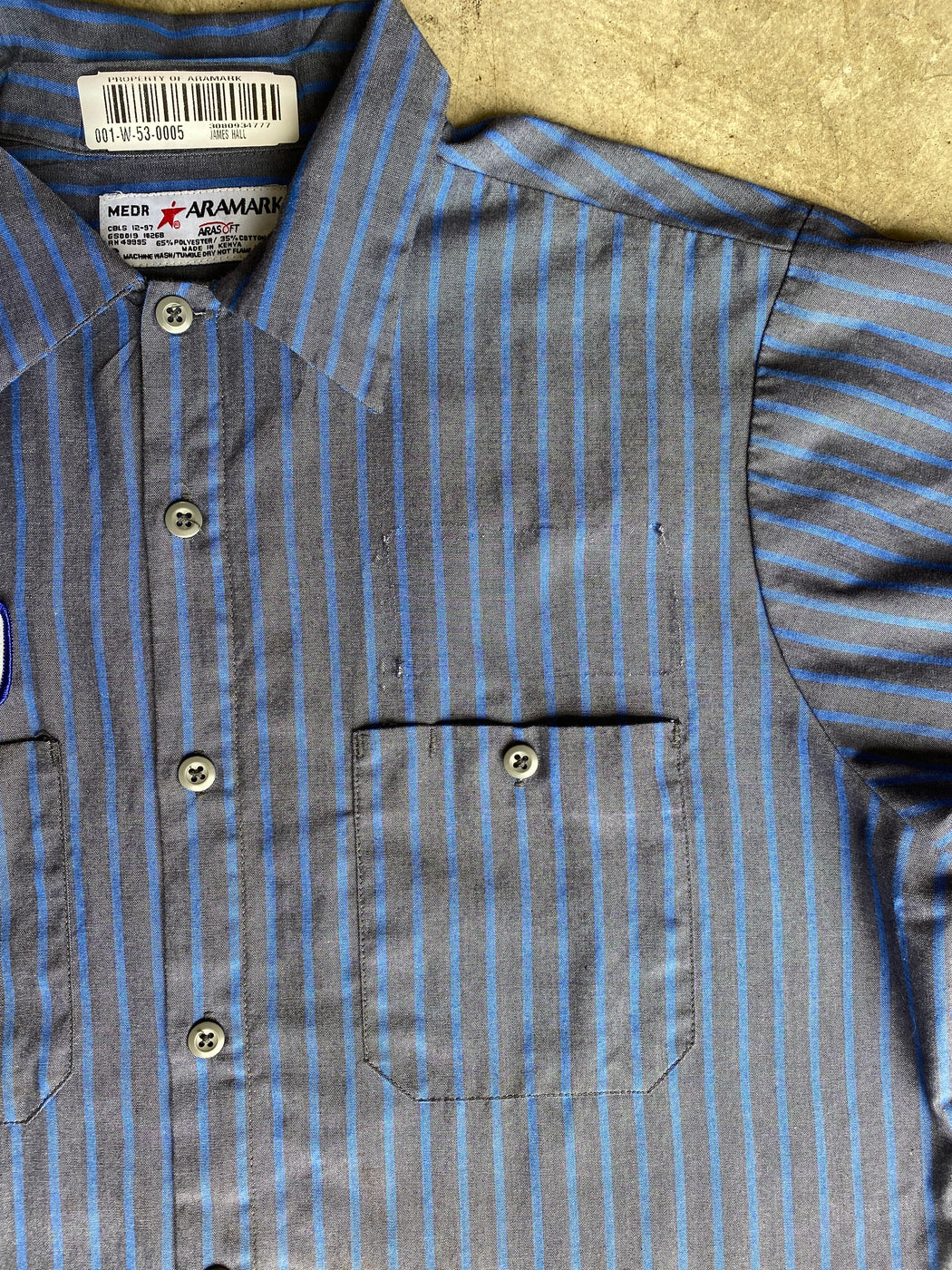 Blue & Grey James Workshirt