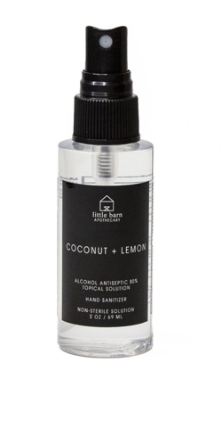 Coconut + Lemon Hand Sanitizer