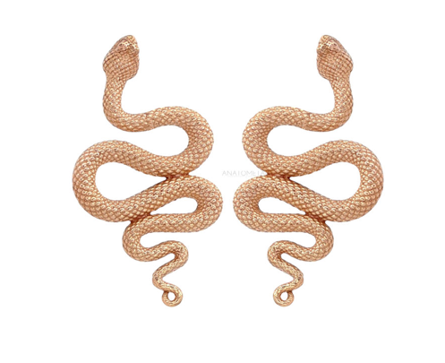 Rose Gold Snake Tops