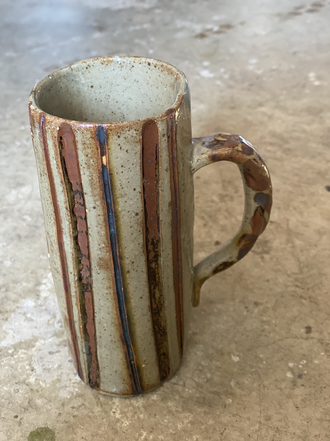 Tall Stripe Mug