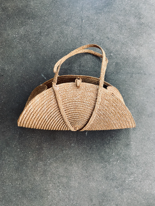 Small Woven Straw Bag