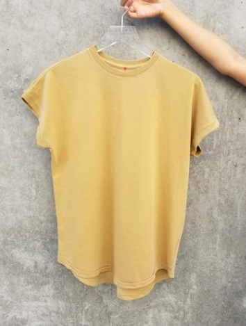 Ease Tee (Butterscotch)