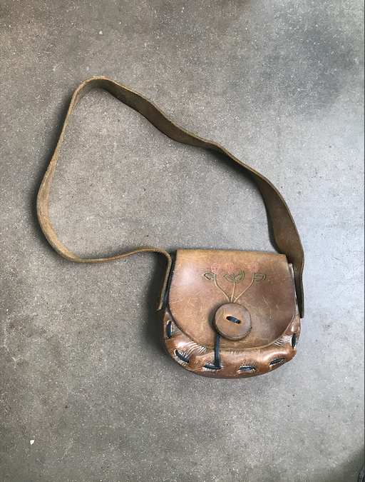 Vintage Boho Leather Handbag