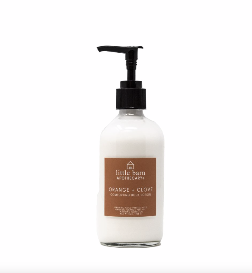 Orange + Clove Comforting Body Lotion
