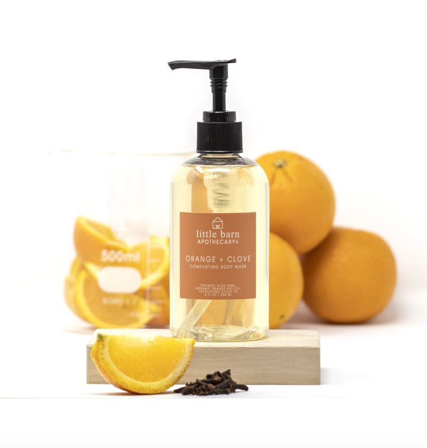 Orange + Clove Comforting Body Wash