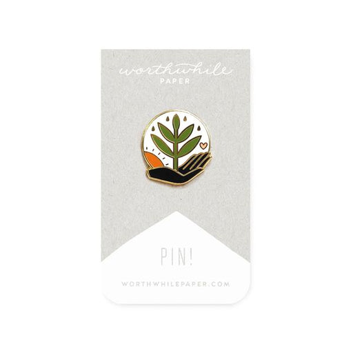Grow Enamel Pin