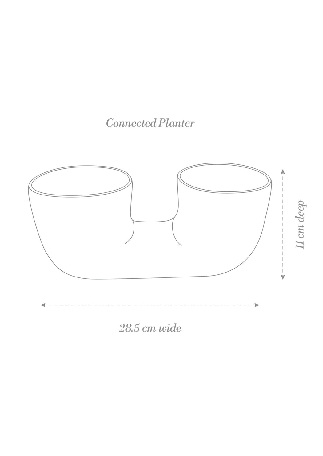 Connected Plant Pot