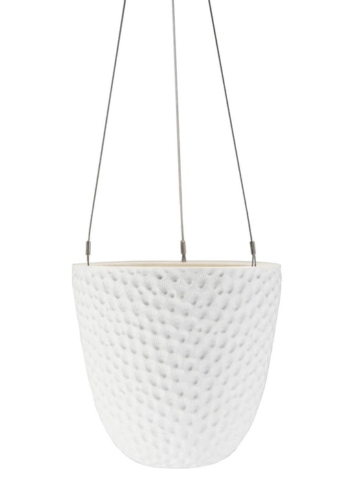 Embossed Hanging Planter