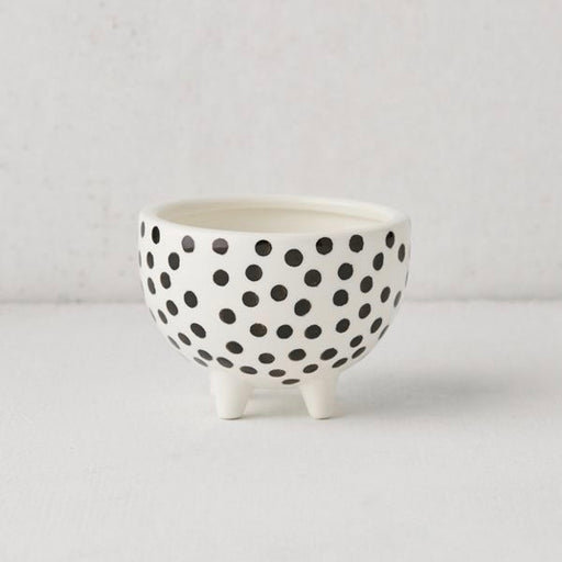 Dotted Ceramic Planter