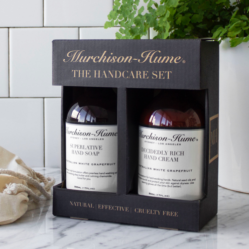 murchinson hume, hand care set, vegan, cruelty free, Australian white grapefruit