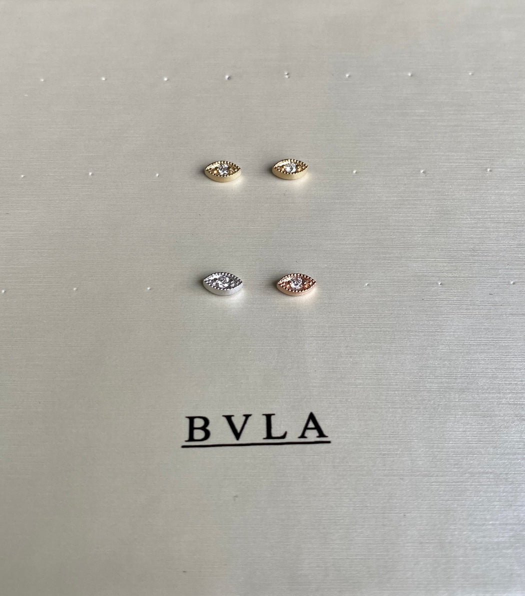 BVLA 6x3mm Marquise Harlequin W/ 2mm White Diamond