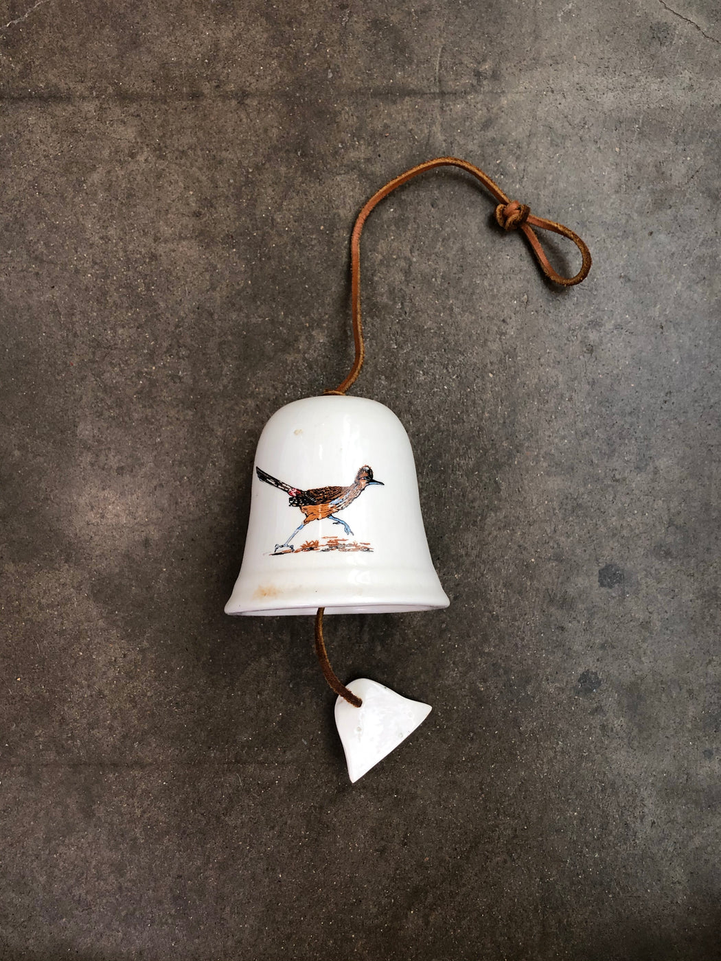 Vintage Bell With Roadrunner Graphic