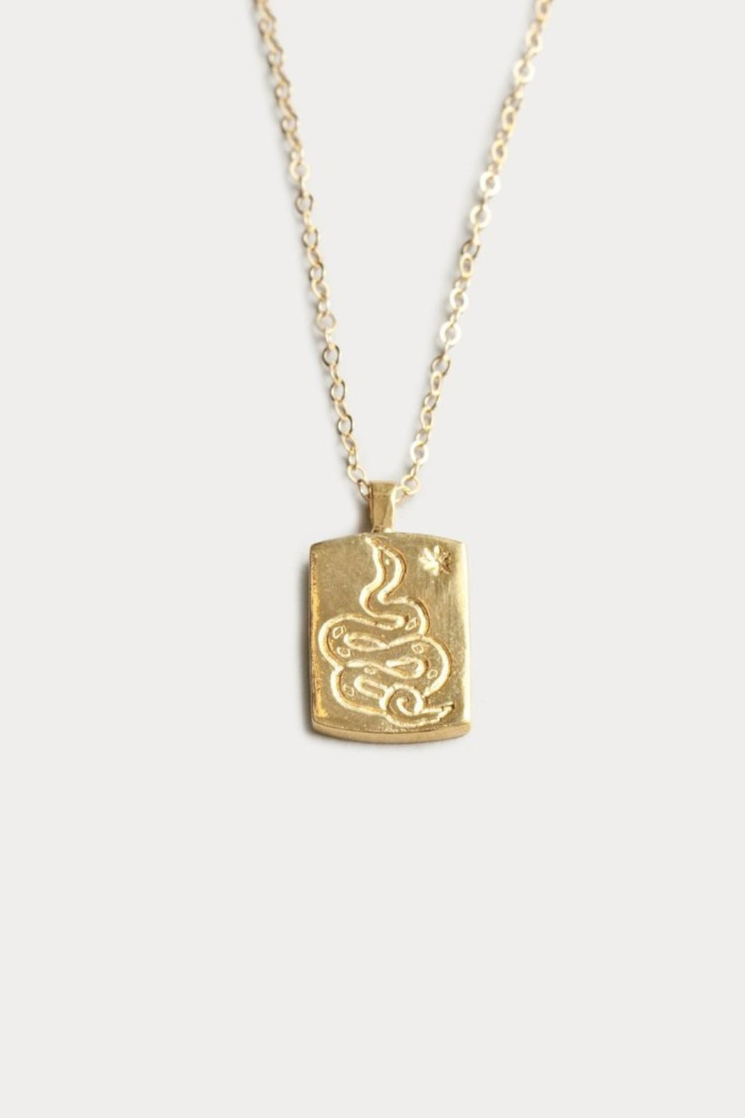 Ophidian Pendant Necklace