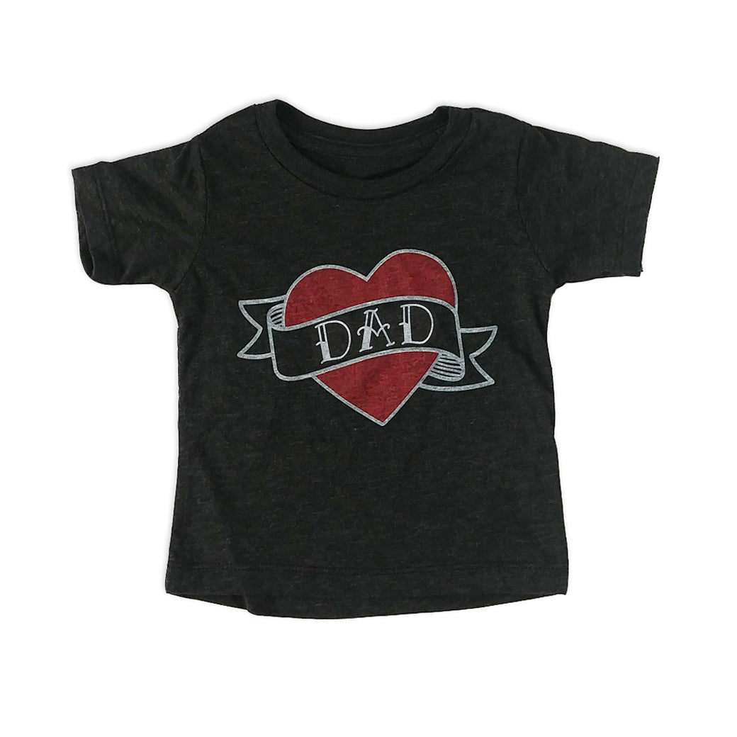 Dad Tattoo Kids Tee