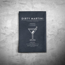 Load image into Gallery viewer, Dirty Martini Black Towel
