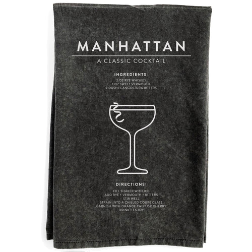 Manhattan Black Towel