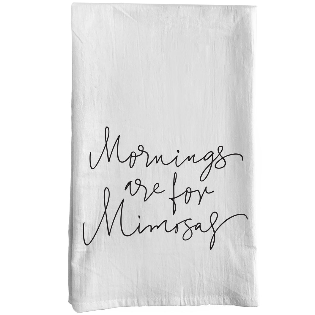 Mornings are for Mimosas Towel