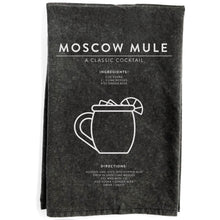 Load image into Gallery viewer, Moscow Mule Black Towel