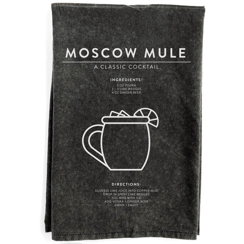 Moscow Mule Black Towel