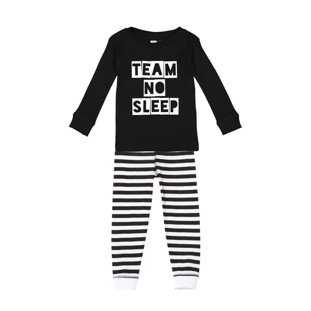 Team No Sleep Kids Jammies