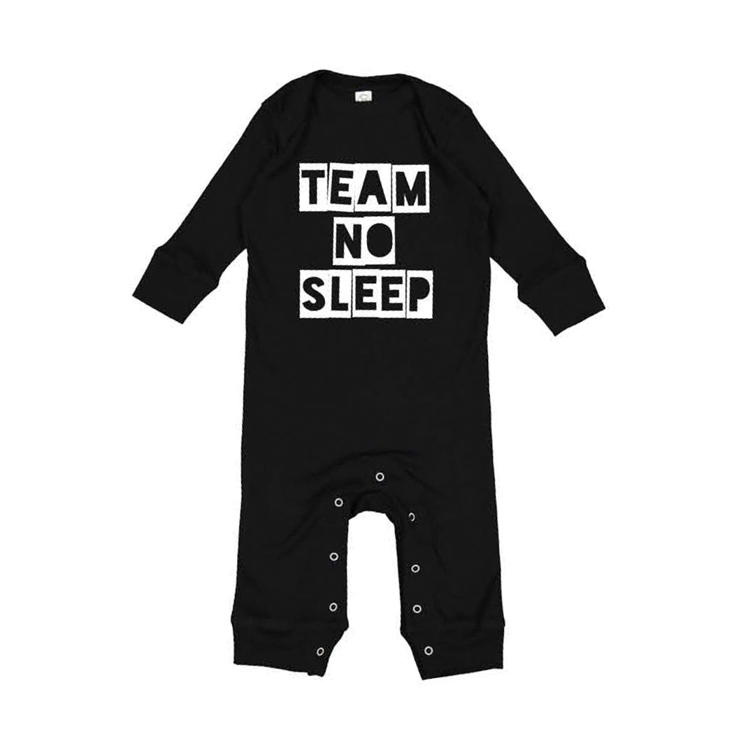 Team No Sleep Infant Jammies