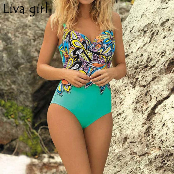 Forever Young - Padded Push Up Swimsuit