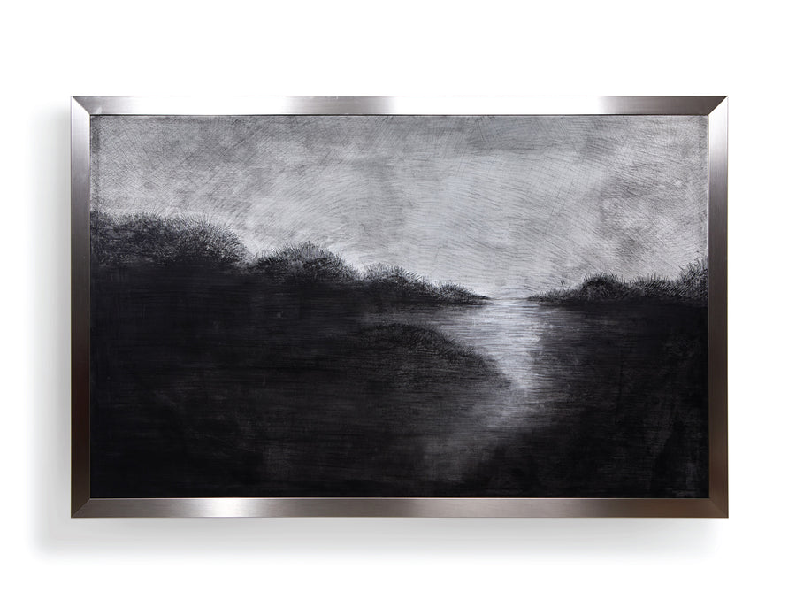 """In Clarity"" - Large scale painting."