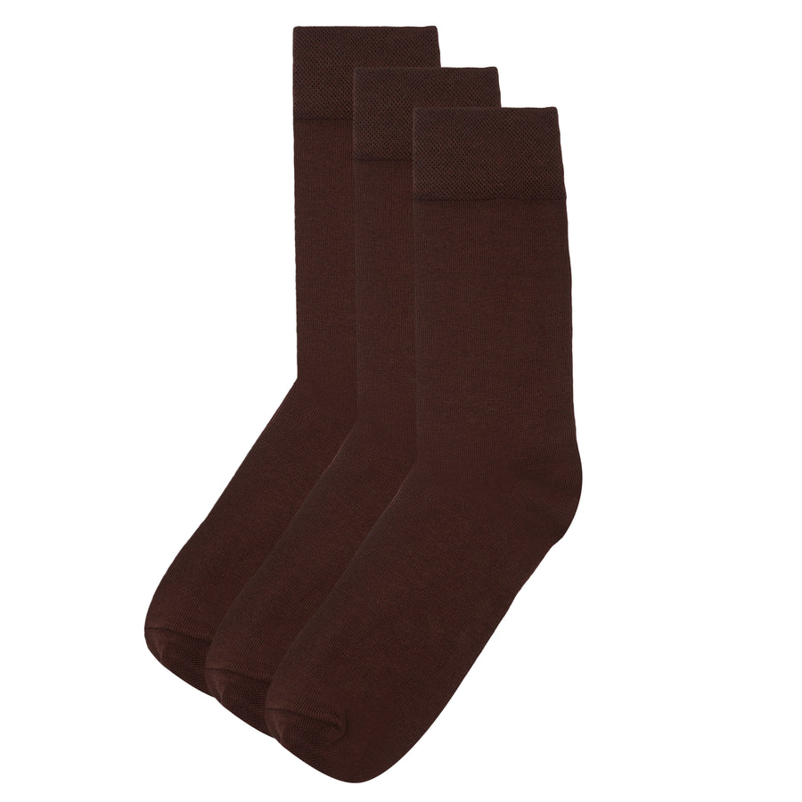 BROWN SOCKS PACK