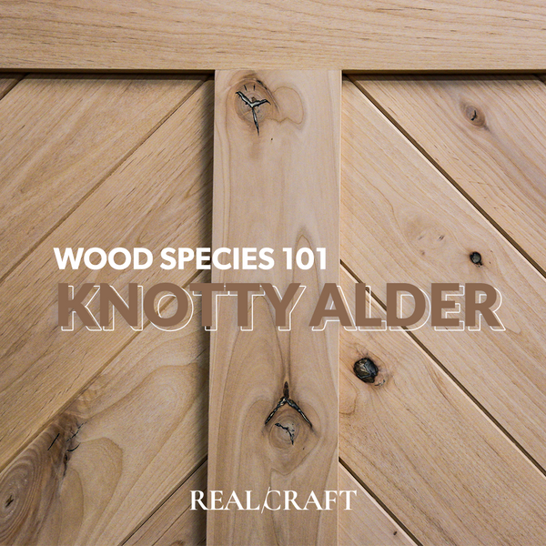 Wood Species 101: Knotty Alder showcase image