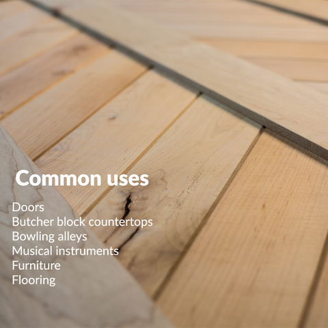 RealCraft Wood Species 101 Series: Maple. Lumber commons uses descriptions
