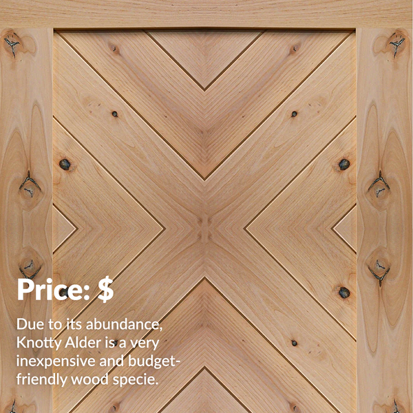 Knotty Alder price information