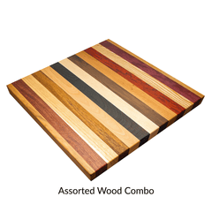RealCraft's countertop wood specie thumbnail: Assorted Wood Combo