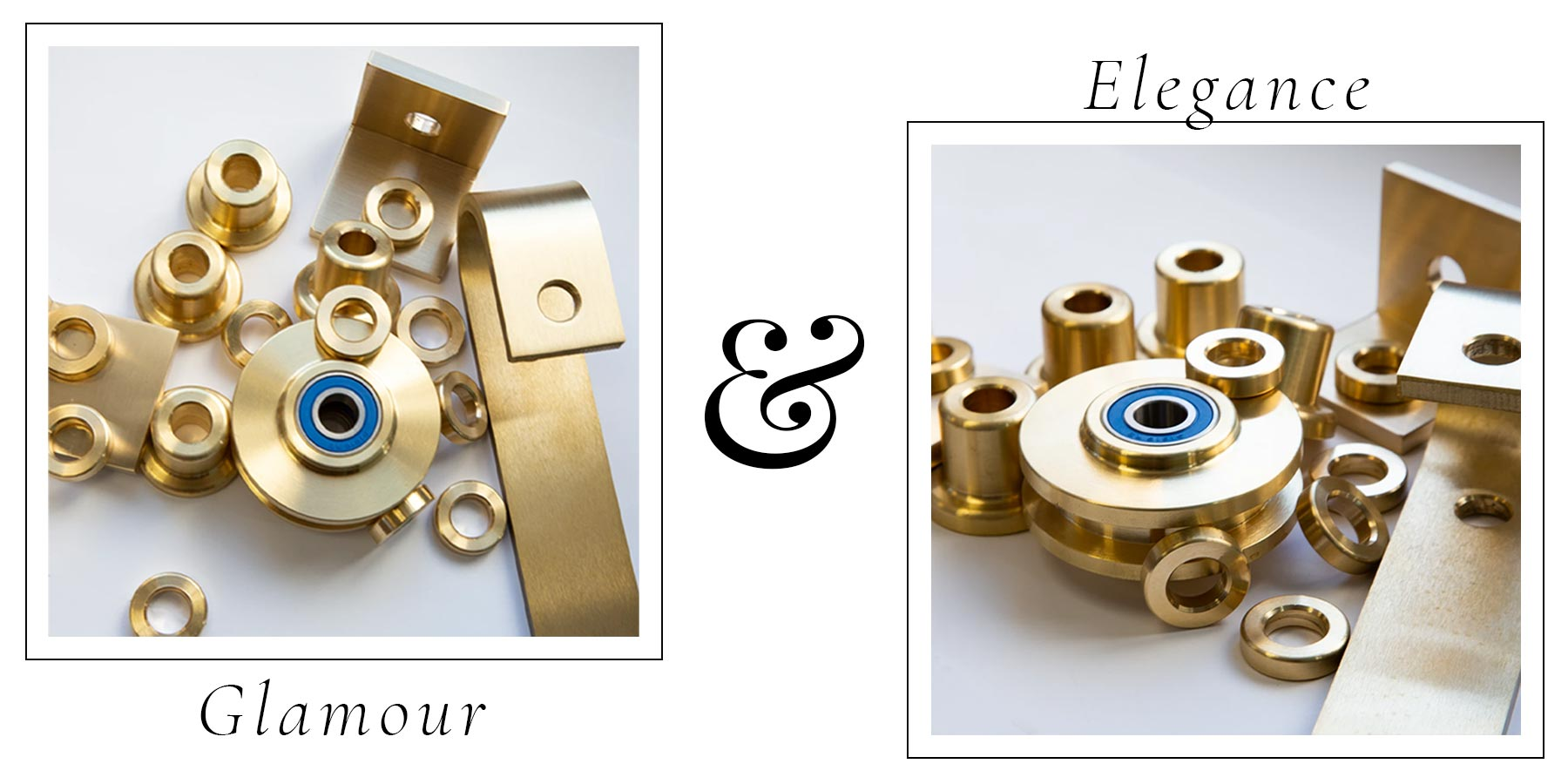 Glamour and elegance hardware parts - RealCraft