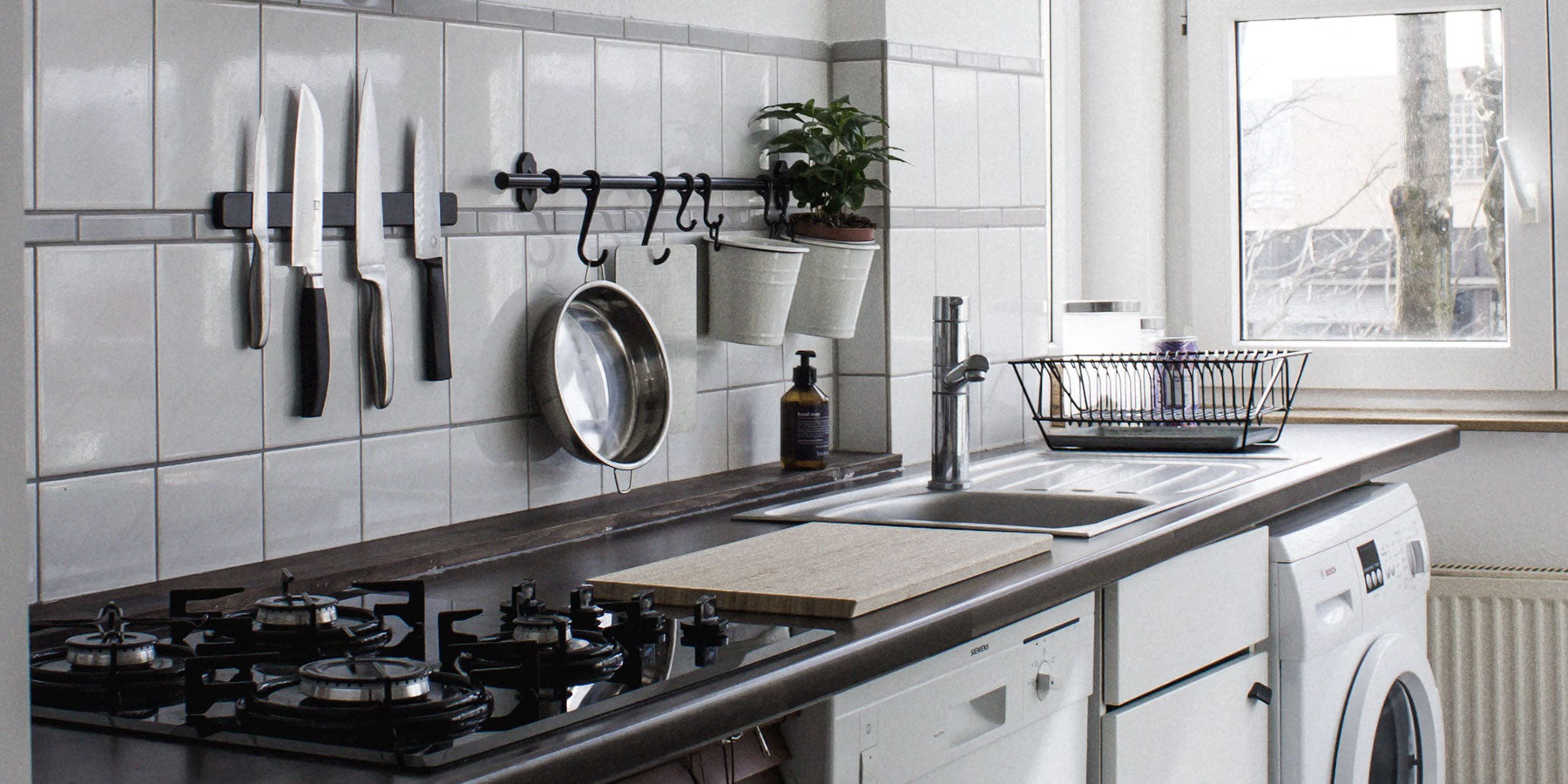 Stainless Steel cabinets and islands