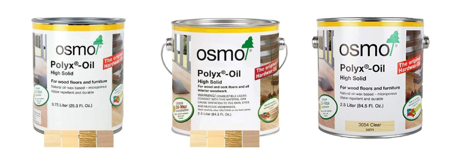 osmo wood finishes variety