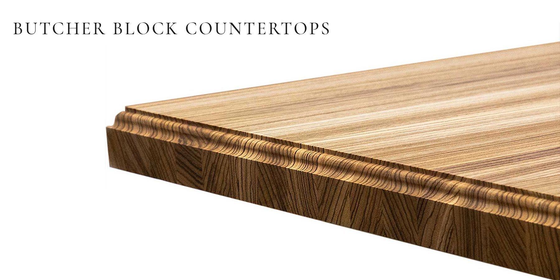 Butcher Block Countertops by RealCraft