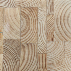 RealCraft's Butcher Block Countertop Construction style options thumbnail: Mosaic End Grain