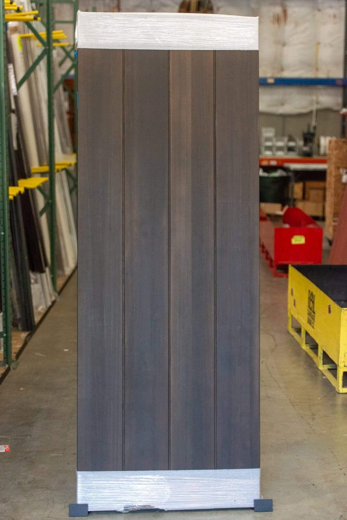 "81""H x 30""W Western Red Cedar Classic Vertical Plank Barn Door - Sliding Barn Door Hardware by RealCraft"