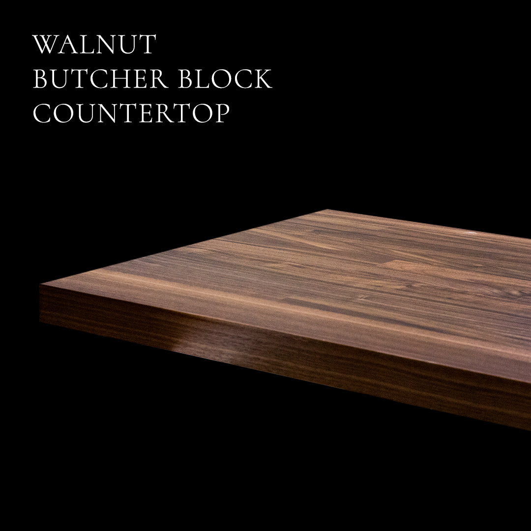 Walnut Butcher Block Countertop by RealCraft