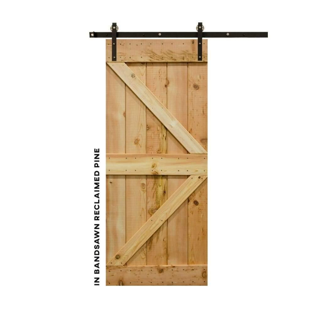 British Brace Sliding Barn Door - Sliding Barn Door Hardware by RealCraft