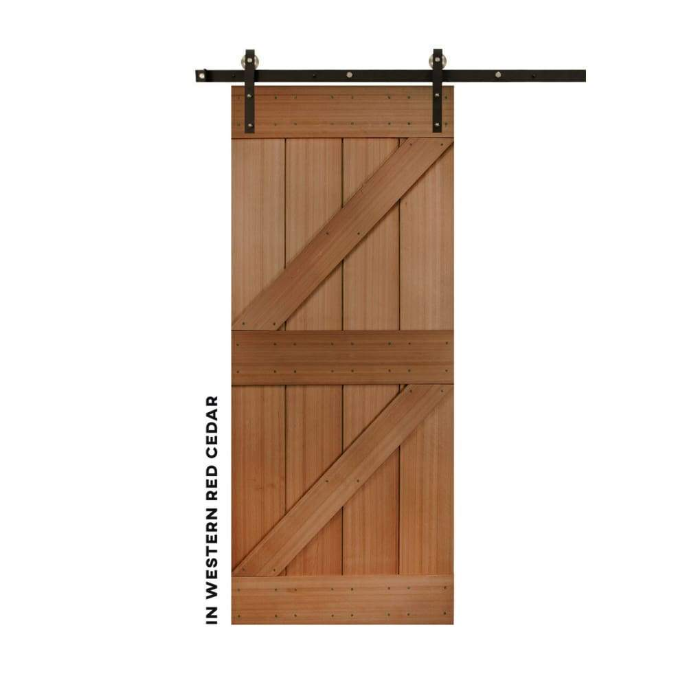 Double-Z Sliding Barn Door Kit - Sliding Barn Door Hardware by RealCraft