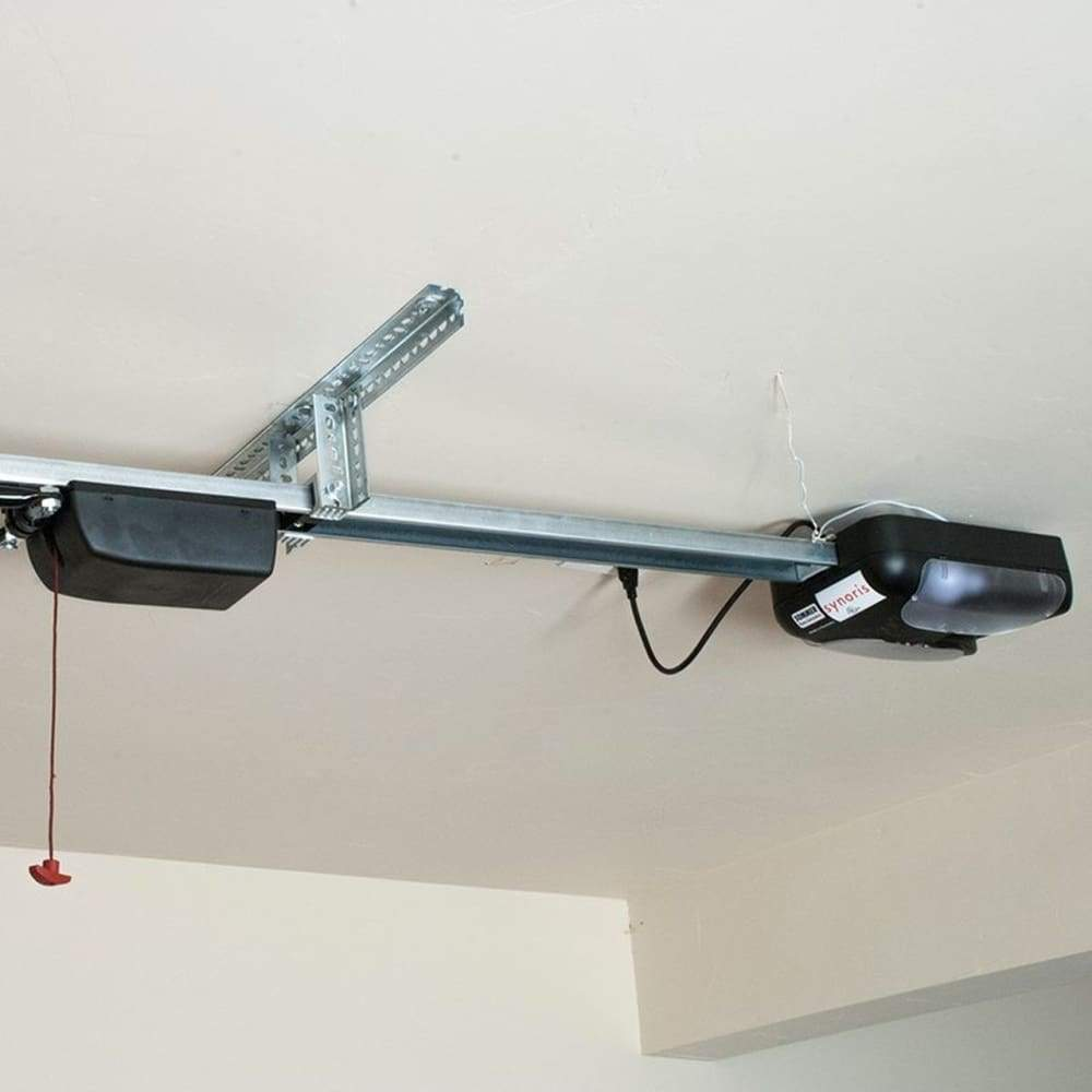 Fremont Ceiling Mounted Outswing Garage Door Opener (AOCM) - Sliding Barn Door Hardware by RealCraft