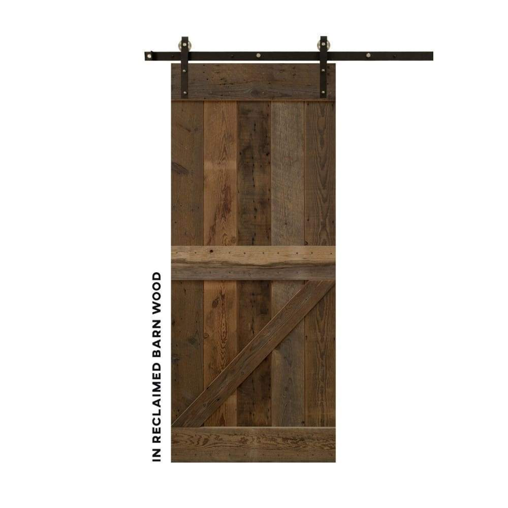 Half-Z Sliding Barn Door Kit - Sliding Barn Door Hardware by RealCraft
