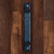 Hand Forged Rectangular Rustic Barn Door Pull Handle - Sliding Barn Door Hardware by RealCraft
