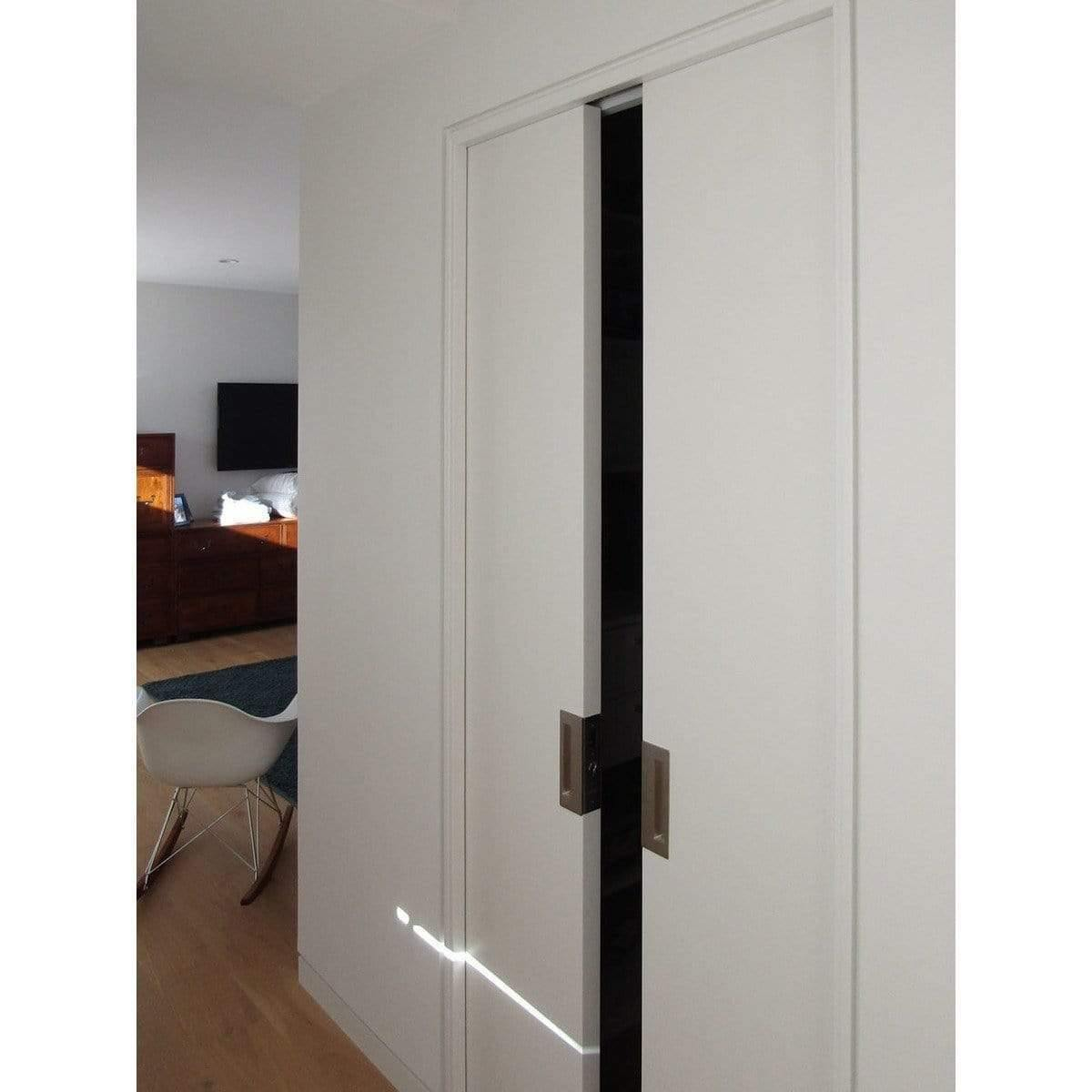 Cl400 Magnetic Bi Parting Double Barn Door Handle Set Realcraft