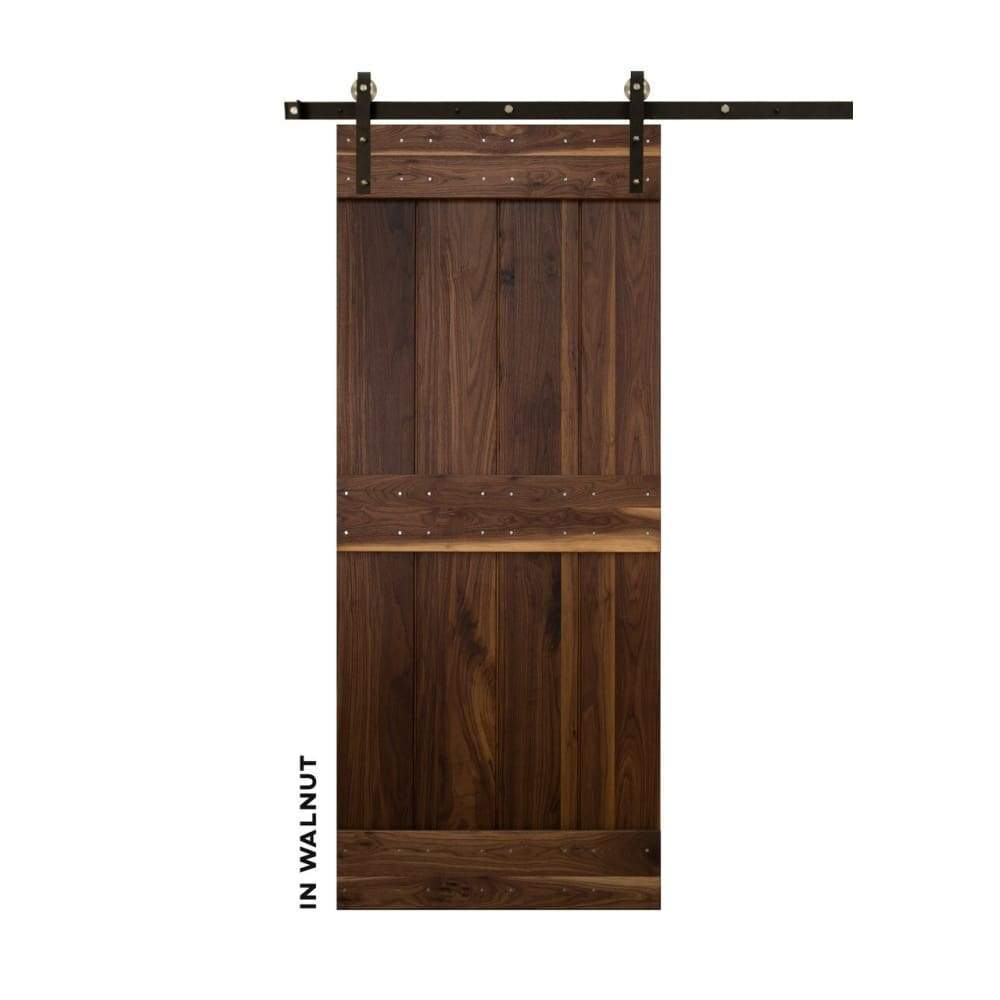 Mid-Bar Sliding Barn Door Kit - Sliding Barn Door Hardware by RealCraft