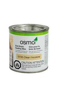 Osmo Exterior End Grain Sealing Wax - Sliding Barn Door Hardware by RealCraft