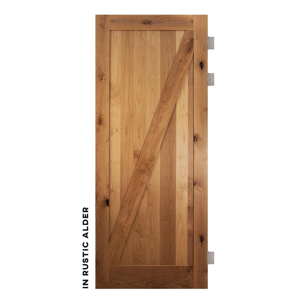 Craftsman Z Panel Swinging Barn Door - RealCraft