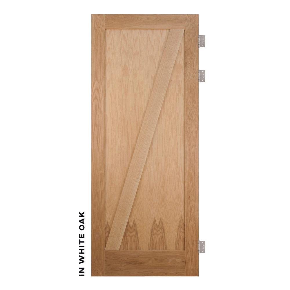 Craftsman Z Panel Swinging Barn Door - Sliding Barn Door Hardware by RealCraft