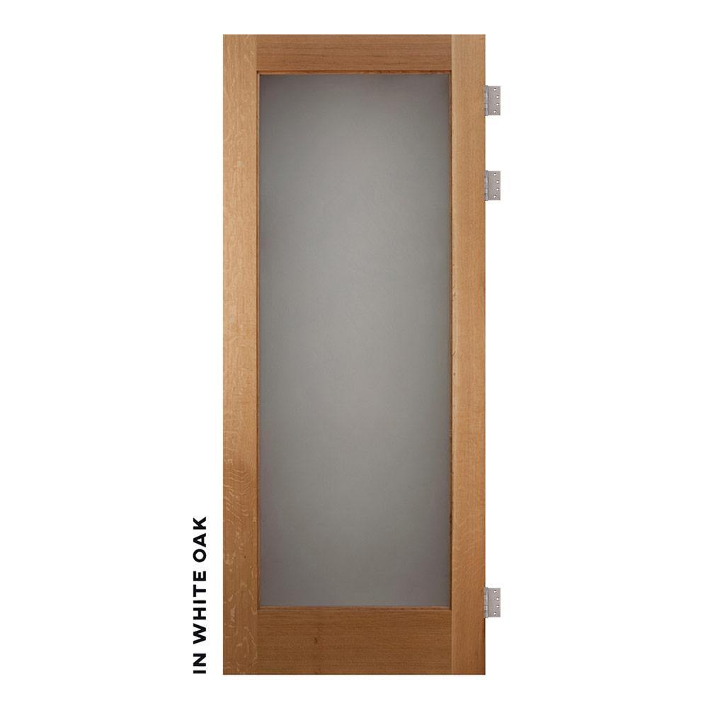 Single Panel Swinging Glass Barn Door - Sliding Barn Door Hardware